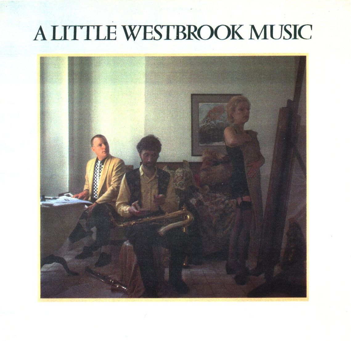 "CD Cover ""A little Westbrook Music"""